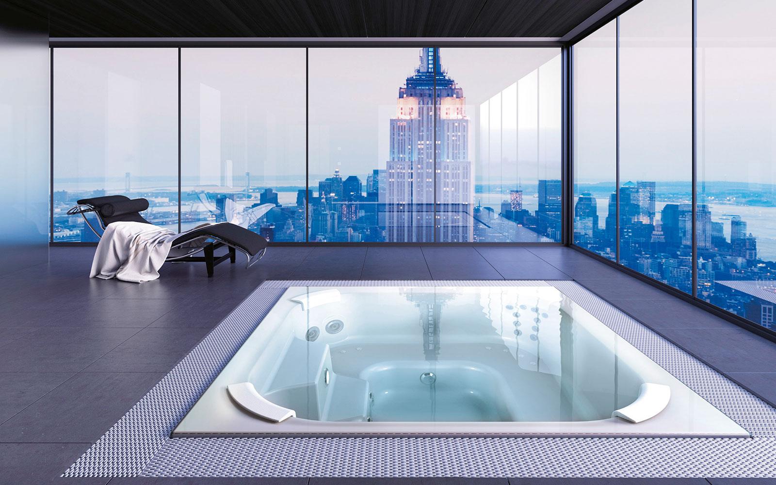 whirlpools f r drinnen und draussen schwimmbadservice. Black Bedroom Furniture Sets. Home Design Ideas